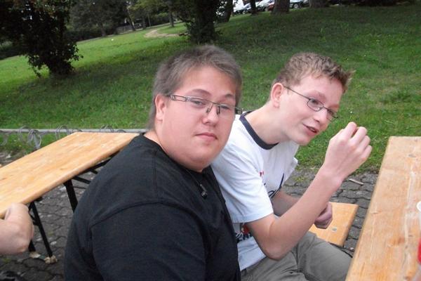 Kai und Andreas